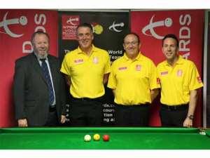 Alan Chamberlain, Phil Welham, Martin Goodwill and Roxton Chapman